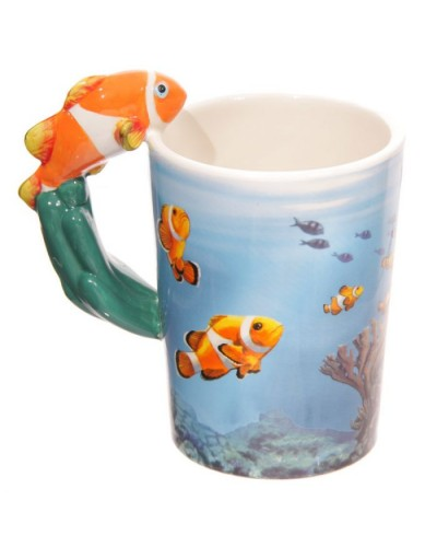 MUG POISSON CLOWN