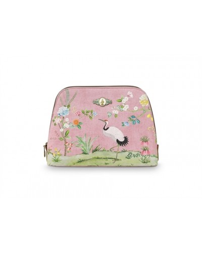 POCHETTE FLORAL ROSE GM