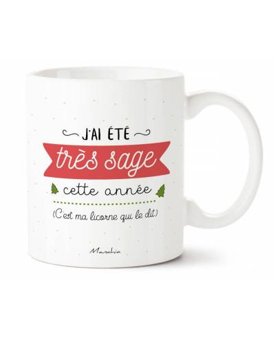 MUG J'AI ETE TRES SAGE CETTE ANNEE