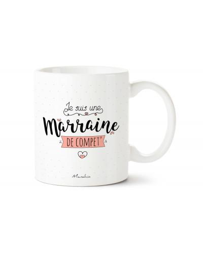 MUG JE SUIS UNE MARRAINE DE COMPET