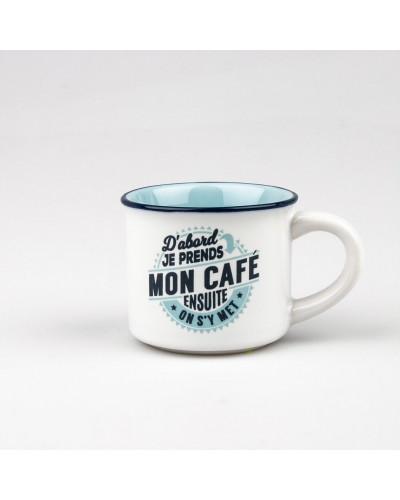 TASSE EXPRESSO D'ABORD MON CAFÉ